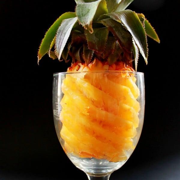 Ananas Victoria et vanille Bourbon rhum arrangé
