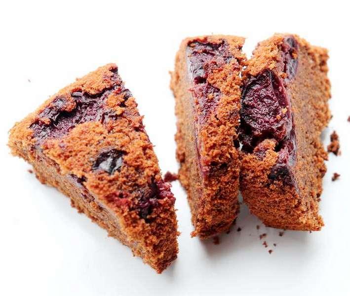 Gâteau chocolat cerises et kriek