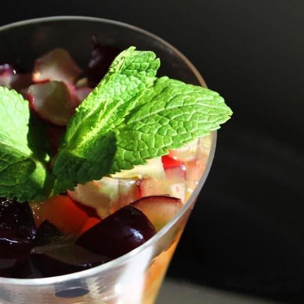 Salade de fruits façon mojito