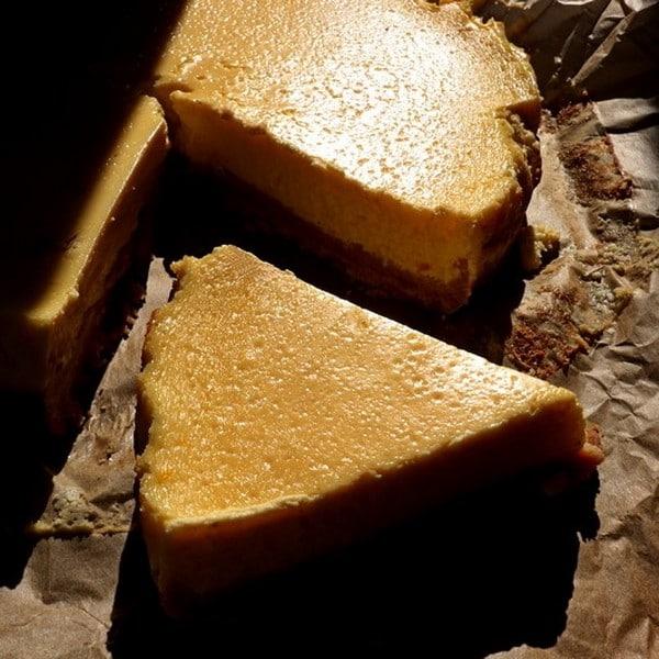 Cheesecake au safran Lady Rhum